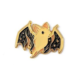 Lost Lust Supply Lost Lust Supply Enamel Pin - Ghost Bat - Dark