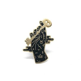 Lost Lust Supply Lost Lust Supply Enamel Pin - Curio Key