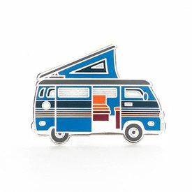 Lost Lust Supply Lost Lust Supply Enamel Pin - Camper Van - Blue