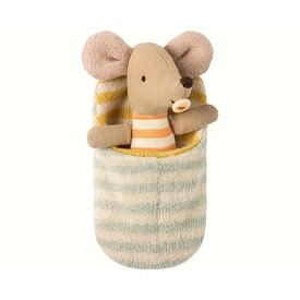 Maileg Mouse - Baby in Sleeping Bag