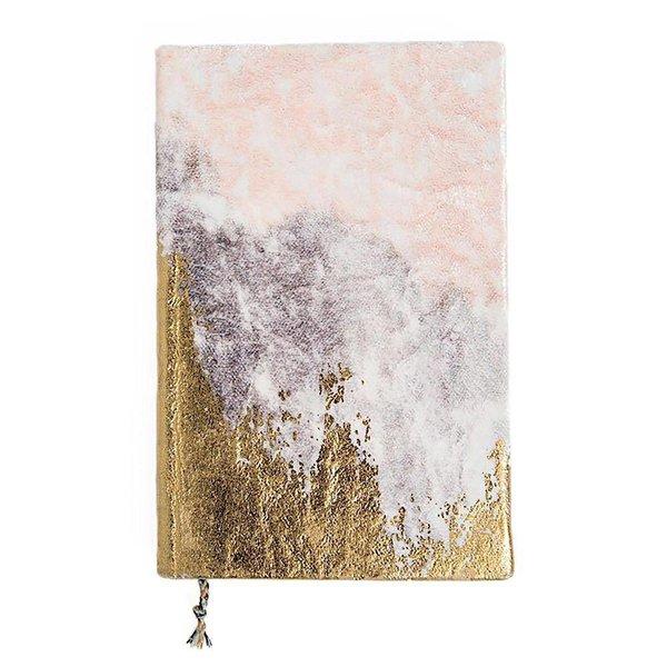 Printfresh Studio Printfresh Studio Mini Journal - Blush Fade Velvet Gratitude