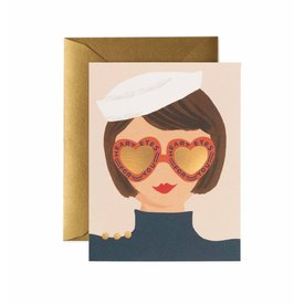 Rifle Paper Co. Card - Heart Eyes
