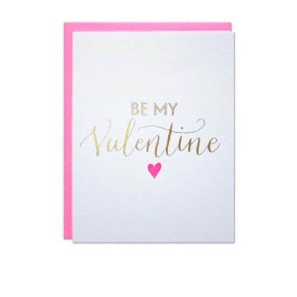 Parrott Design Card - Be My Valentine