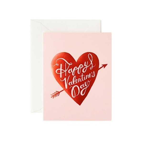 Rifle Paper Co. Card - Happy Valentines Day Heart