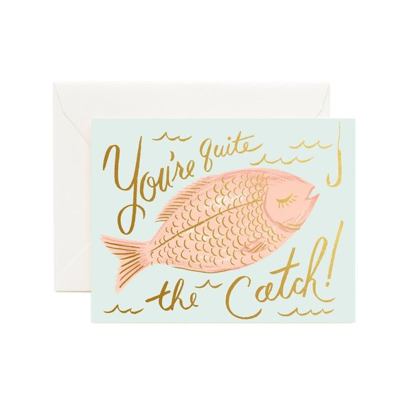 Rifle Paper Co. Card - You're A Catch