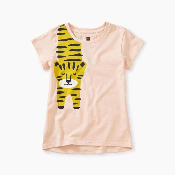 Tea Collection Tiger Turn Graphic Tee