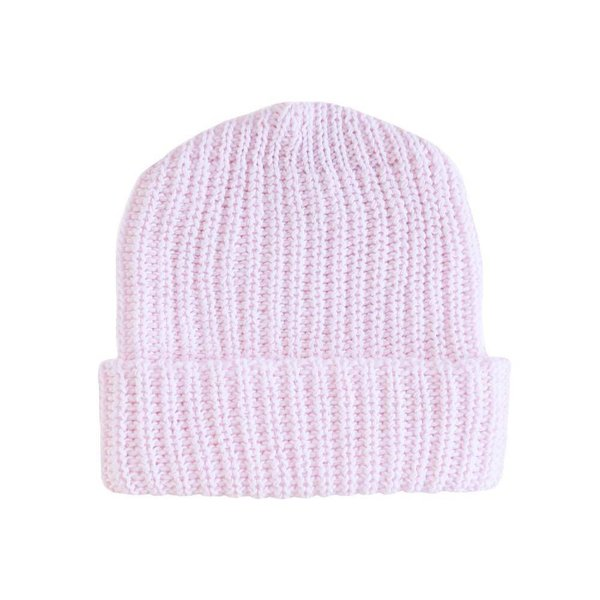 Solid Cotton Knit Hat
