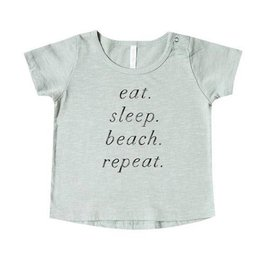 Rylee + Cru Eat Sleep Beach Basic Tee