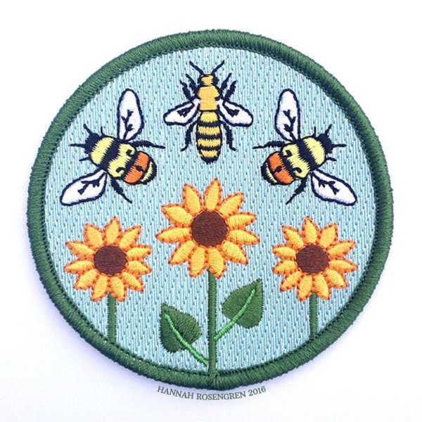 Hannah Rosengren Hannah Rosengren Patch - Bumble & Honey Bee