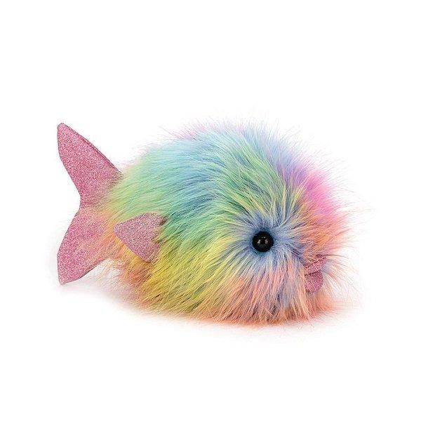 Jellycat Jellycat Disco Fish - Rainbow - 10 Inches