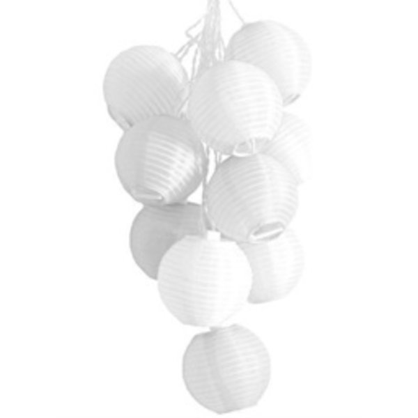 Soji Solar String-Lights - White
