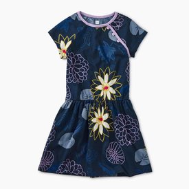 Tea Collection Printed Raglan Dress