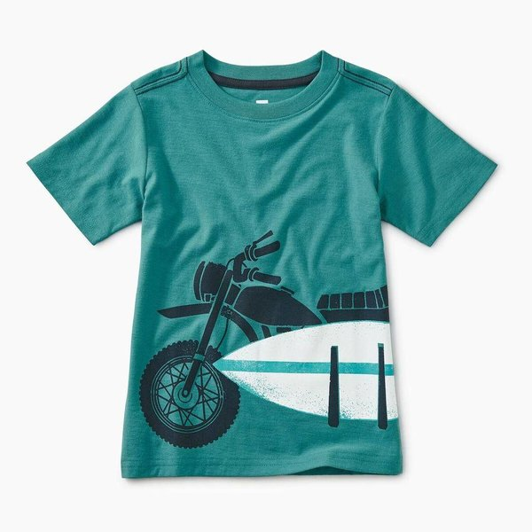 Tea Collection Moto Board Graphic Tee