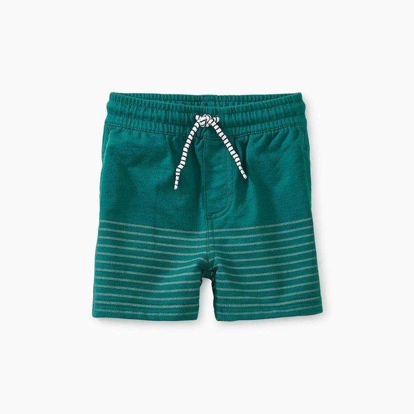 Tea Collection Half Print Knit Baby Shorts