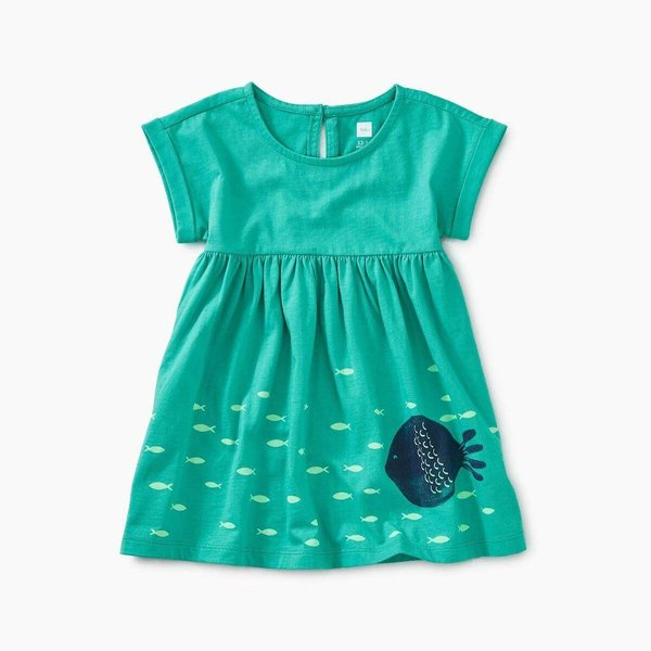 Tea Collection Big Fish Empire Baby Dress