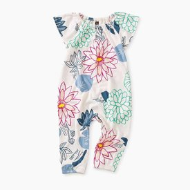 Tea Collection Printed Flutter Sleeve