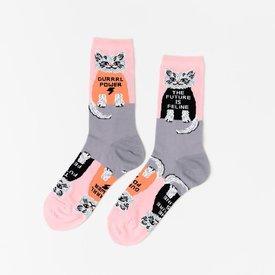 Yellow Owl Workshop Socks - Future is Feline