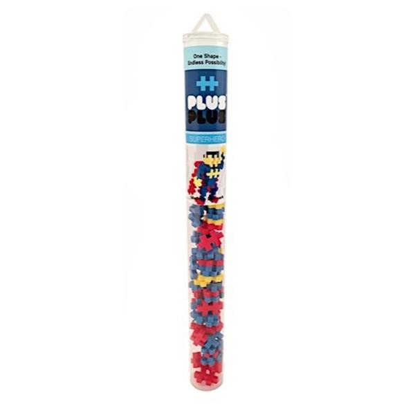 Plus Plus Plus Plus Mini Maker Tube - Superhero