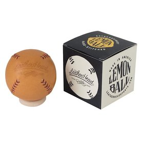 Lemon Ball Baseball - Tan with Red Stich