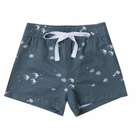 Rylee + Cru Angel Fish Swim Trunk