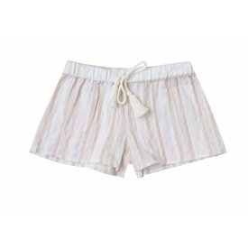 Rylee + Cru Stripe Scallop Short