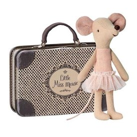 Maileg Mouse - Big Sister Ballerina in Suitcase