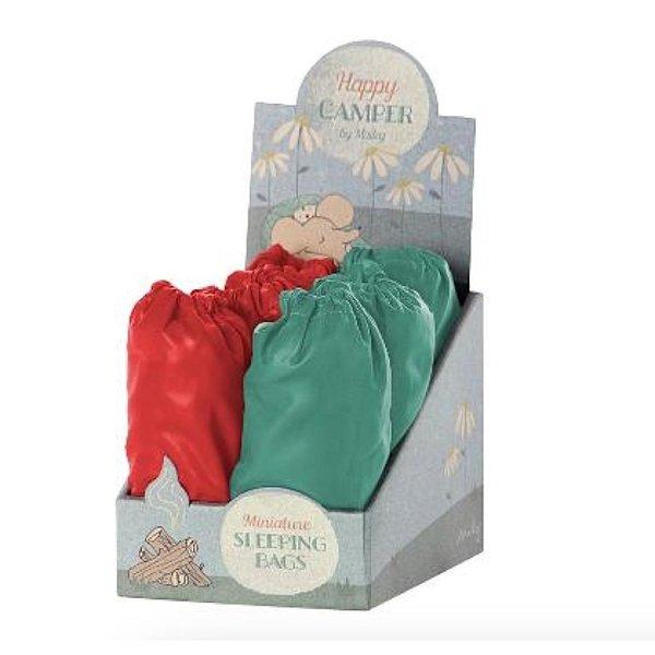 Maileg Sleeping Bag - Teal or Red