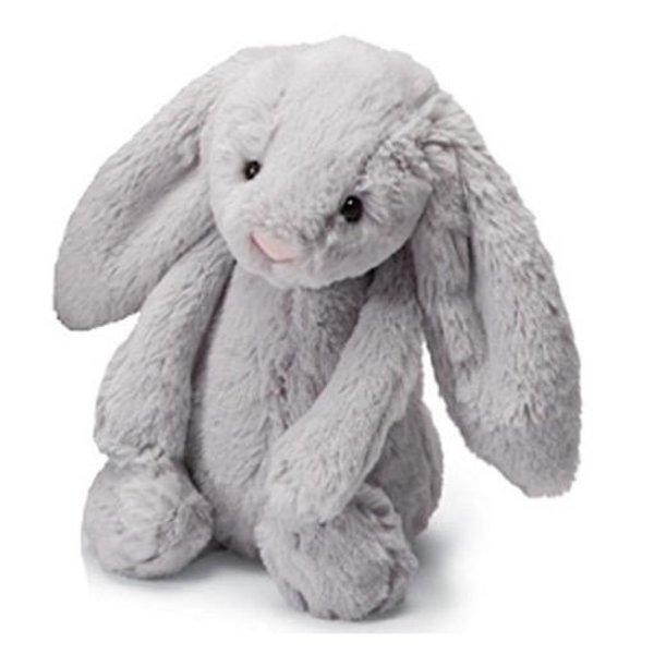 Jellycat Jellycat Bashful Grey Bunny - Medium - 12 Inches