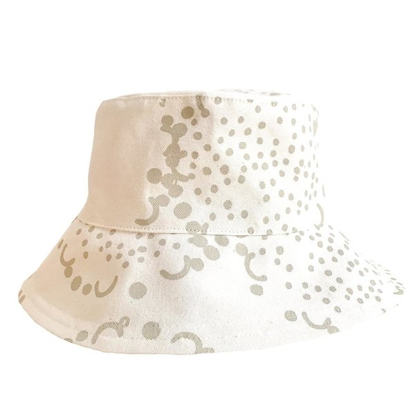 Erin Flett Bucket Hat - Medium - Oatmeal - Dandelion