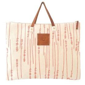 Erin Flett Folder Bag - Coral - Twigs