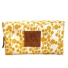 Erin Flett Heavy Canvas Dopp Kit - Gold - Berries - Navy Zip