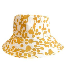 Erin Flett Bucket Hat - Large - Gold - Berries