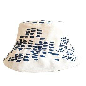 Erin Flett Bucket Hat - Large - Navy - Rain