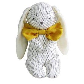 Alimrose Roberto Floppy Bunny - Navy Spot & Bowtie