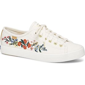 KEDS Adult + Rifle Paper Co. Kickstart / Vines Embroidery