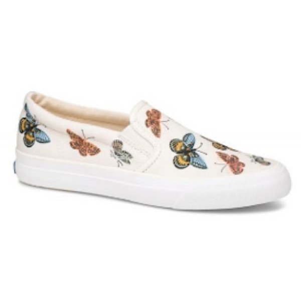 KEDS Adult + Rifle Paper Co. Anchor Slip On