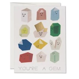 Red Cap Cards Gem Buddies Card
