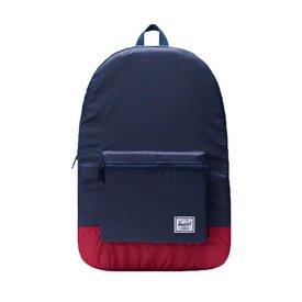 Herschel Packable Daypack - Navy/Red