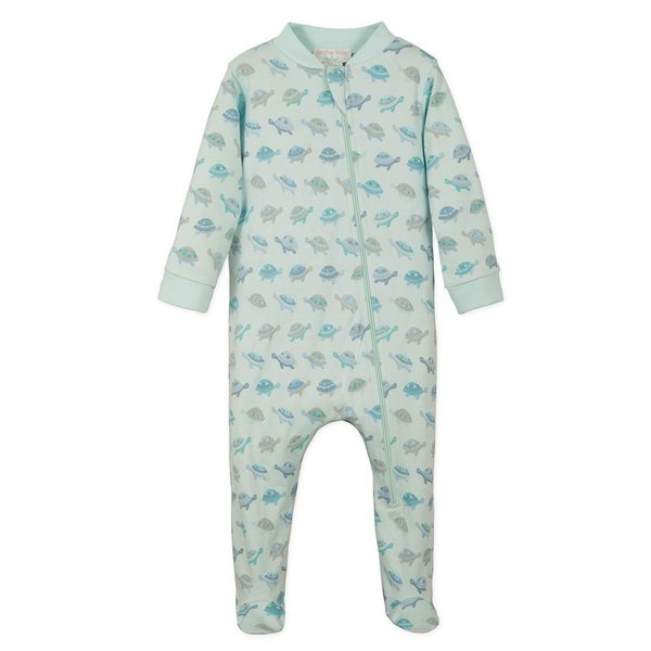 Feather Baby Feather Baby Zipper Footie