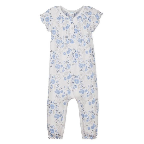 Feather Baby Feather Baby Ruched Romper