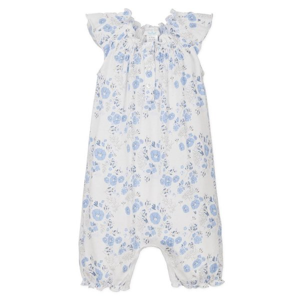 Feather Baby Feather Baby Angel-Sleeve Romper