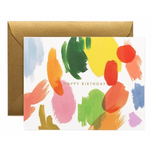 Rifle Paper Co. Card - Palette Birthday