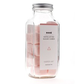 Harper + Ari Harper + Ari Exfoliating Sugar Cubes - 16oz Bottle - Rose