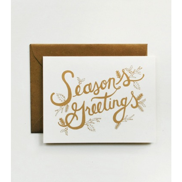 Rifle Paper Co. Card - Season's Greetings