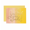 Rifle Paper Co. Card - You Make Me Smile