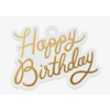 Rifle Paper Co. Die Cut Gift Tag - Happy Birthday