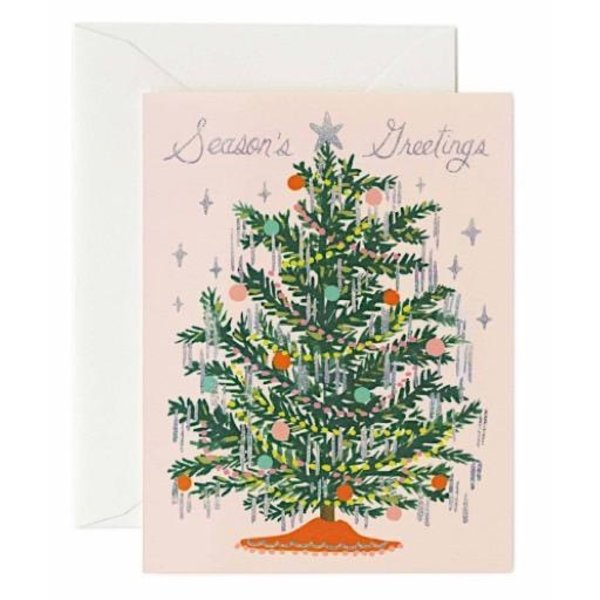 Rifle Paper Co. Card - Tinsel Tree