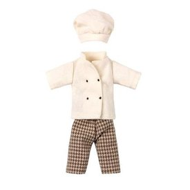 Maileg Mouse - Clothes for Chef Mouse