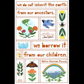 Hannah Rosengren Hannah Rosengren Borrow the Earth Poster - 11 X 17