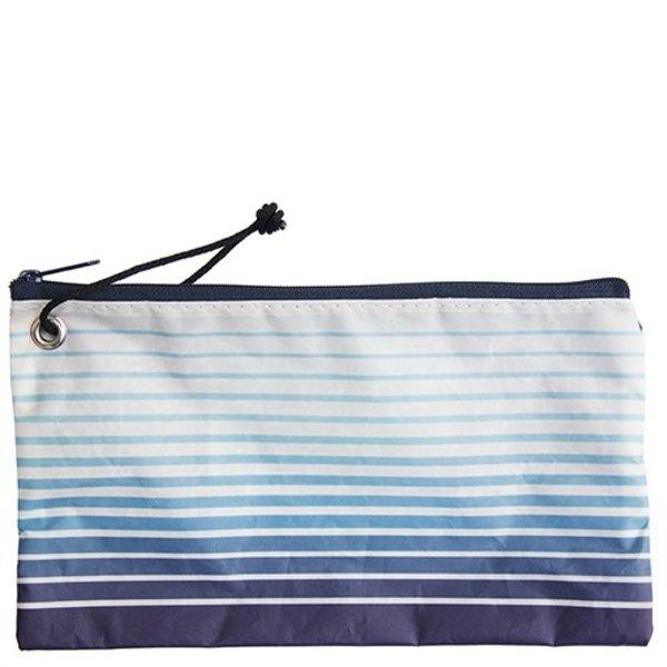 Sea Bags Custom Daytrip Society Ombre Stripe Wristlet